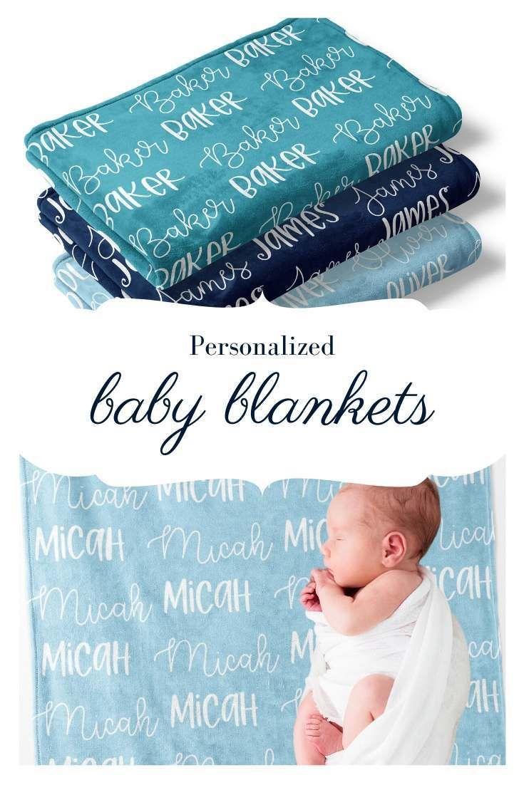 Personalized Nursery Blanket Personalized Baby Blanket Girl Baby Name Blanket Boy