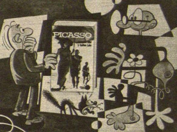 Disfraz picassiano - El rincón de Mortadelón ................. página dedicada a Mortadelo y Filemón, Ibáñez y Bruguera.... mortadelo filemon ibañez bruguera