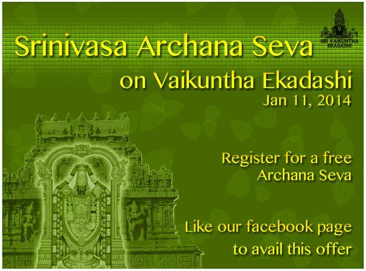 Srinivasa Archana Seva