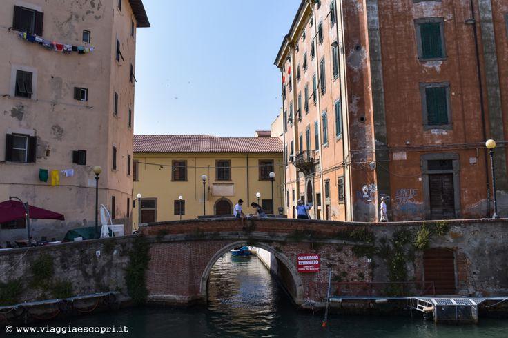 Scorcio della Venezia livornese, cosa vedere a #Livorno #LivornoBlogTour