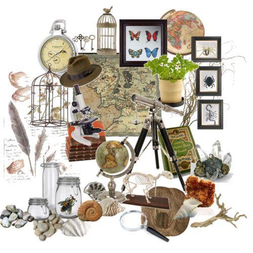 more ideas for world traveler explorer boys bedroom- via Nathalie Whisnant from polyvore.com