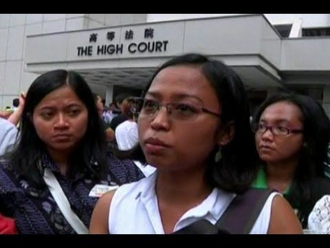 Filipino Maid Starts Legal Battle for Permanent Residency in Hong Kong - http://www.nopasc.org/filipino-maid-starts-legal-battle-for-permanent-residency-in-hong-kong/