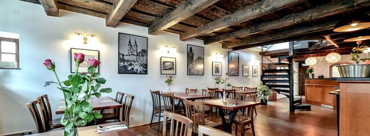 VEGANS PRAGUE. Nerudova 36, Vegan restaurant in an 16th century building near Prague Castle with terrace and view, since early 2016. Makes home-style Czech and international cuisine. Open Mon-Sun 11:30am-9:30pm.