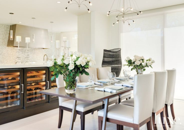 Modern White Dining Room Part 94