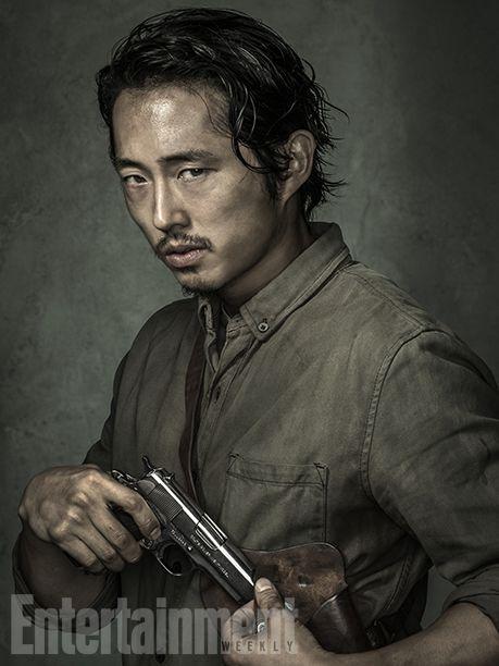'The Walking Dead': Exclusive EW Portraits | Steven Yeun | EW.com