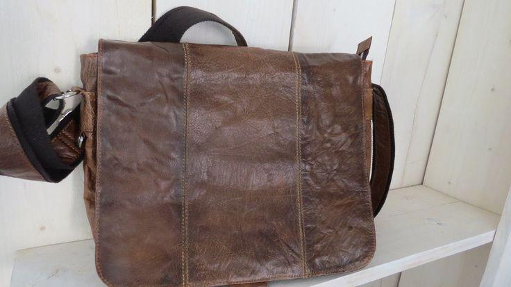 Bull&Hunt*Handtasche*Leder*Braun*Vintage*Bull&Hunt*Exclusiv*Doppel Look | eBay