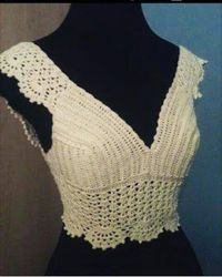 Irish crochet &: CROCHET TOP....ТОП КРЮЧКОМ