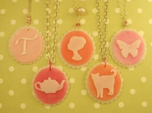 Not your Grandmother's Cameo – Shrink Plastic Jewelry