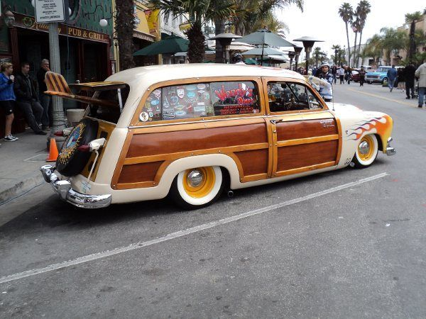 1950 Ford Woodie hot rod ...for the best in car care products, click here: http://johnbellblog.com