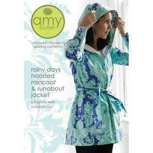 Rainy Days Hooded Raincoat Pattern