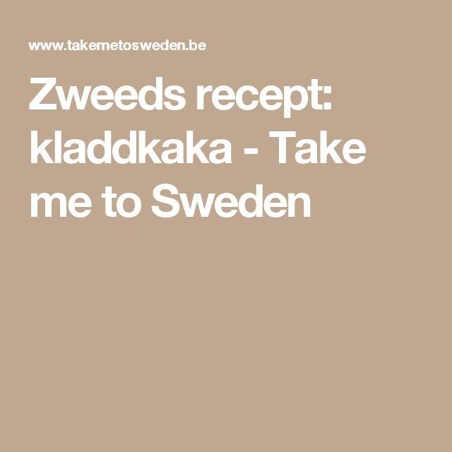 Zweeds recept: kladdkaka - Take me to Sweden