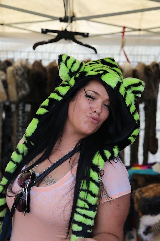 Faux fur tiger animal hood http://bollibears.com/eshop/product/black-and-white-tiger-animal-hood/