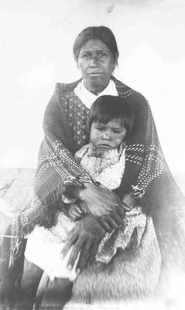 """Kweti, wife of James Hornbuckle, Cherokee, 1888."" Some folks living in the southeastern U.S. may have hidden Native heritage. Here's a genealogical narrative that illustrates how some people hid their Native heritage to escape persecution based on their race."