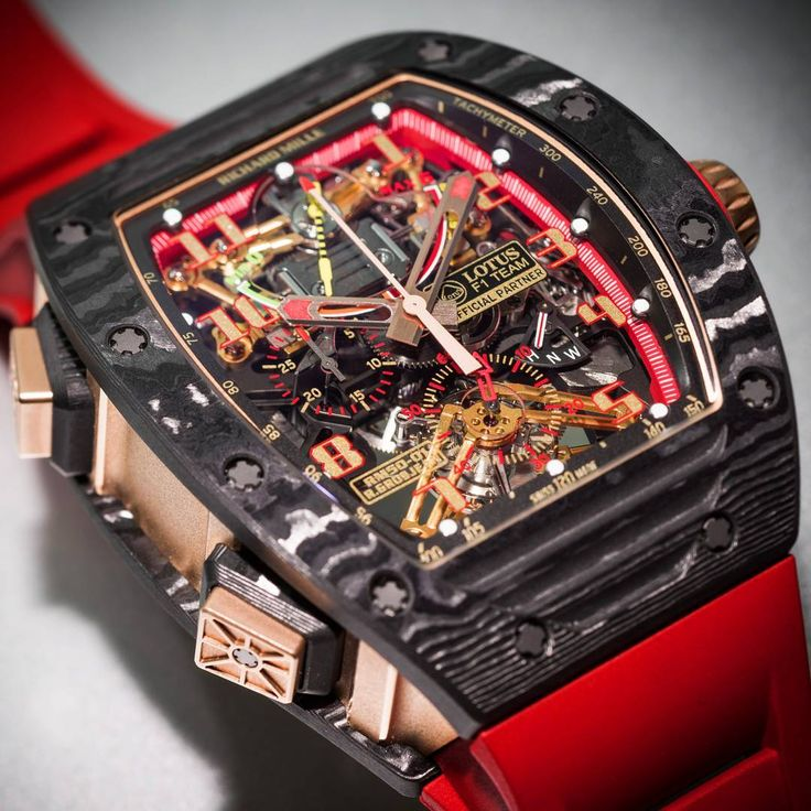 Richard Mille RM 50-01 Romain Grosjean in gold and NTPT. Close up of fine details.