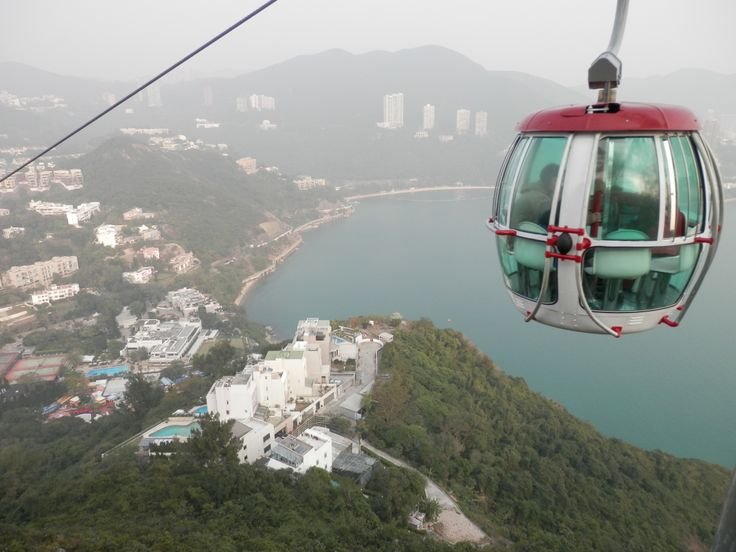 hongkong above the cable car