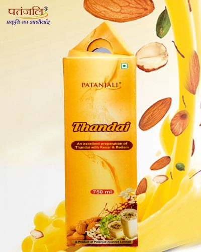 #Thandai A product of Patanjali Ayurved. Thandai with Kesar, Badam & Pista.This summer refresh yourself with the goodness of nature with Thandai . for more info https://www.patanjaliayurved.net
