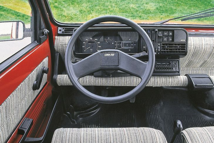 dashboard interior fiat panda 1989 motors pinterest interiors pandas and fiat panda. Black Bedroom Furniture Sets. Home Design Ideas