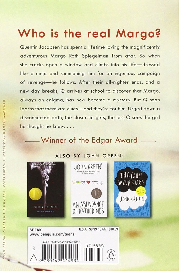 Amazon.com: Paper Towns (9780142414934): John Green: Books