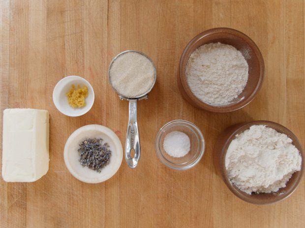 lavender lemon shortbread | Sweet Things / Cookies | Pinterest