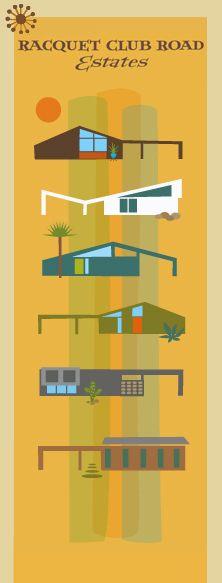 Eichler-leich homes in Palm Springs