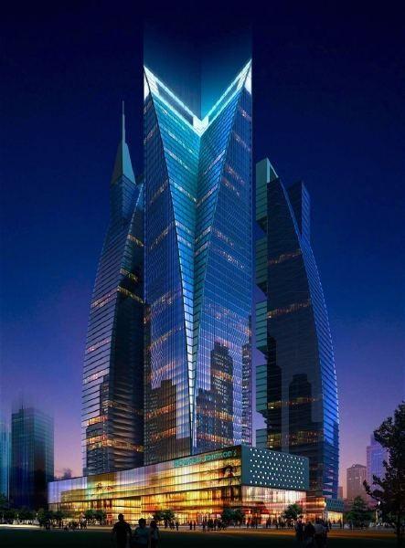 Amazing Snaps: Gujarat International finance Tec-city | See more #Architecture - ☮k☮