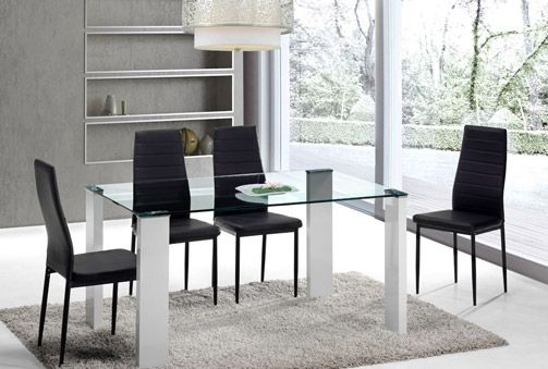 42 best sillas y mesas images on pinterest chairs for Mesa cristal liverpool