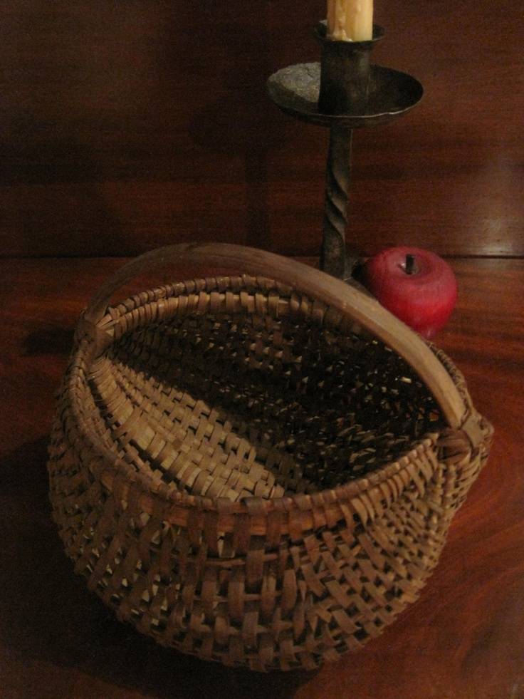 Antique Woven Egg Basket : Images about buttocks baskets on