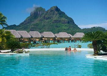 Bora Bora Pearl Beach Resort and Spa, Bora Bora, Bungalow, Overwater, Guestroom View