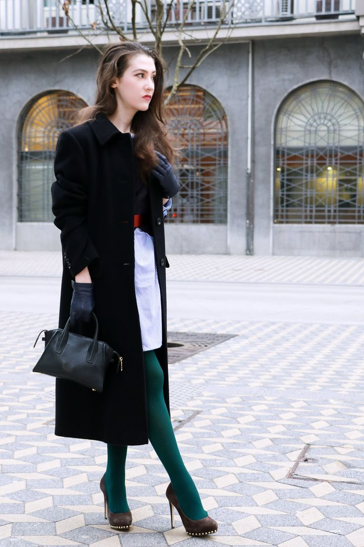 Fashion blogger Veronika Lipar of Brunette From Wall Street on how to look fashionable in green outfit on St Patrick's Day