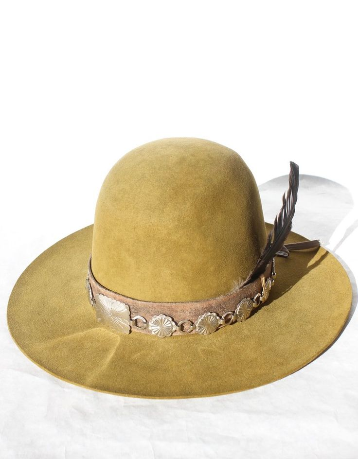 """""""The Mojave Green"""" One-of-A-Kind Lone Hawk Hat"""