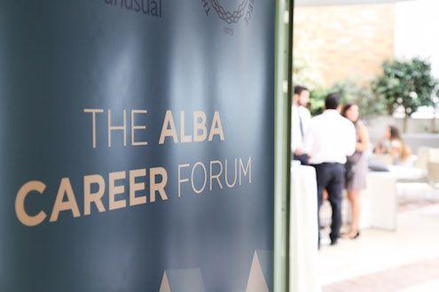 Ετήσια συνάντηση των τελειόφοιτων του ALBA Graduate Business School at The American College of Greece με τους εκπροσώπους της αγοράς στο 25ο ALBA Career Forum  #Unexpected #CareerOpportunities #Unbeatable #Candidates #Unforgettable #Experience