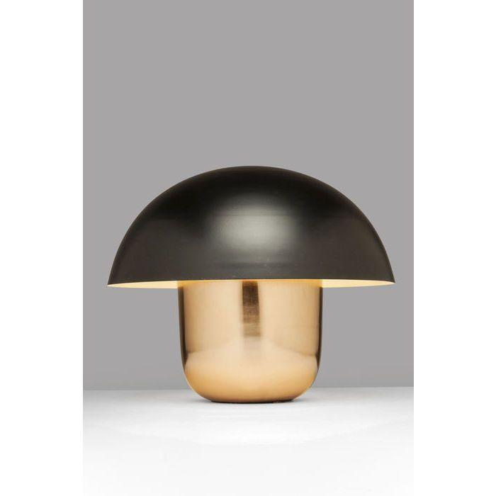 Table Lamp Mushroom Copper Black KARE Design | Lamp, Table