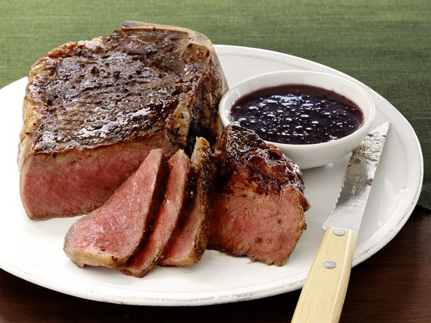 Steak with Red Wine-Shallot Sauce Recipe : Food Network Kitchen : Food Network - FoodNetwork.com