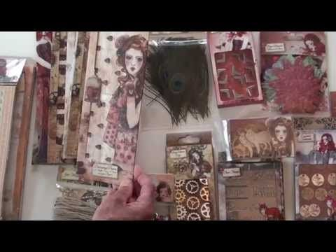NEW Santoro Willow Collection - YouTube