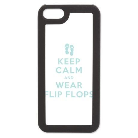 Keep Calm and Wear Flip Flops iPhone 5 Switch Case