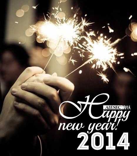 Noul an să fie presărat cu realizări remarcabile, împliniri, sănătate, fericire şi baftă. 2014 e aici curând, până atunci vă dorim tuturor multă distracție în această noapte minunată. La mulți ani!  [AIESEC Timisoara, 2013] #aiesectimisoara #happynewyear