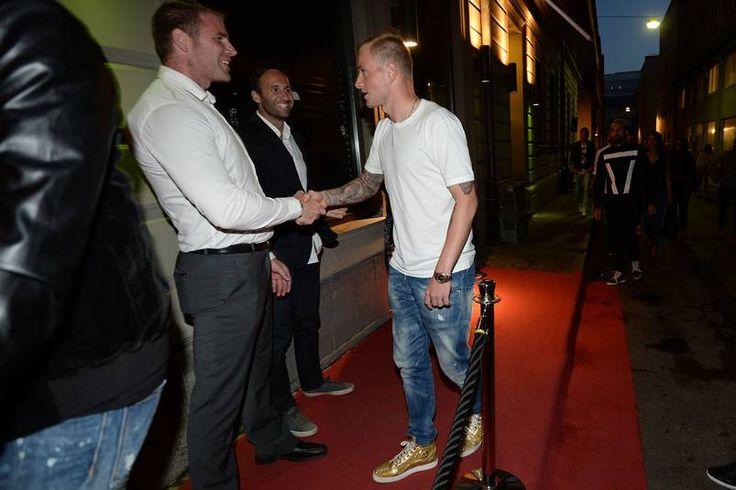 Han kom till festen – i guldfärgade skor   U21-EM 2015   Landslag   Fotboll   Sportbladet   Aftonbladet