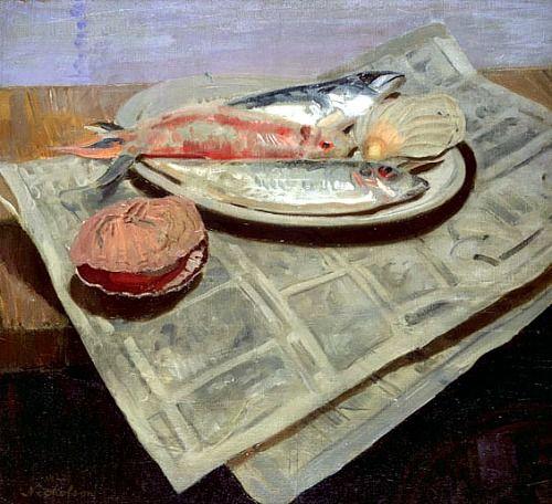 William Nicholson  Fish   1922
