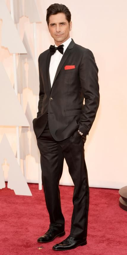 Academy Awards 2015 Red Carpet Arrivals - John Stamos from #InStyle