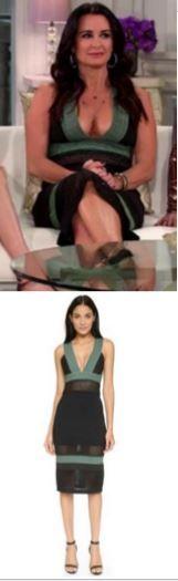 Kyle Richards' Real Housewives of Beverly Hills Season 6 Reunion Dress http://www.bigblondehair.com/real-housewives/kyle-richards-season-6-reunion-dress/
