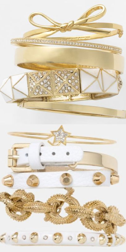 #accessories #gold #Nordstrom #Bangles