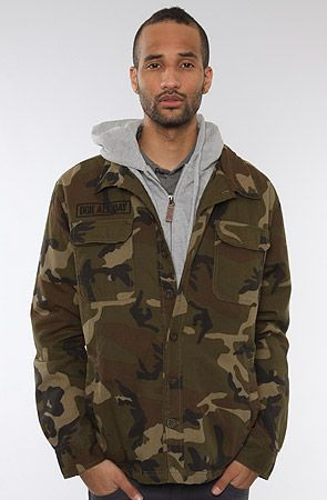 The Veteran Jacket In Camo By Dgk Cool Stuff Jackets