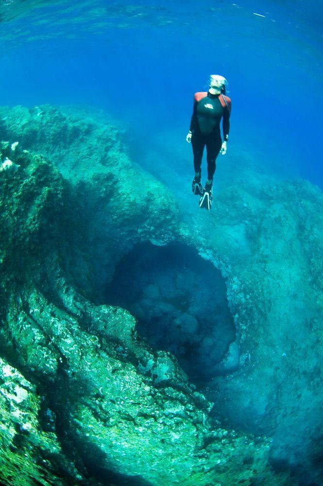 Submarinismo en la isla de La Palma
