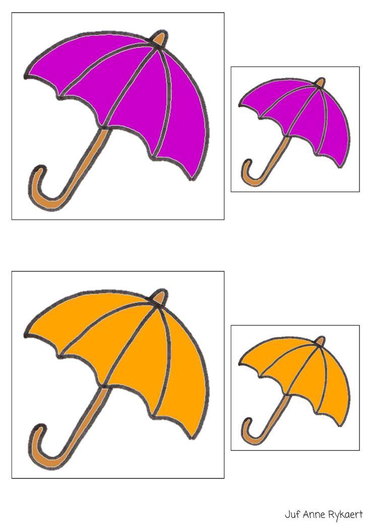 Peuterthema's: Samen onder de paraplu