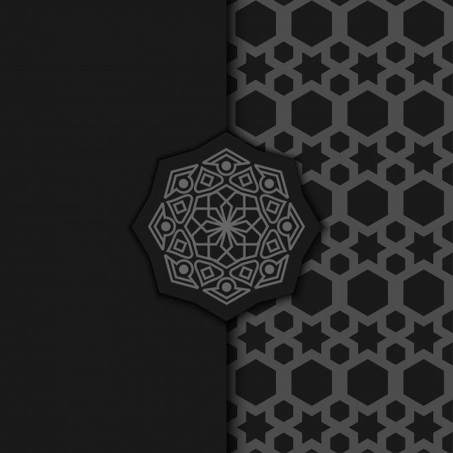 luxury ornamental mandala design background in dark color