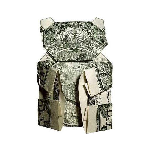 Origami: formas increibles billete de un dólar – Primera Parte
