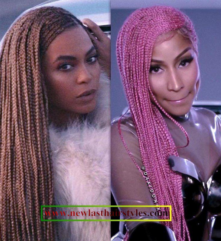 Cardi B Braided Hairstyles 2018 African Brunettes Cardib Longhairstyles Curls Celebrity Nicki Minaj Braids Pretty Braided Hairstyles Cardi B Hairstyles