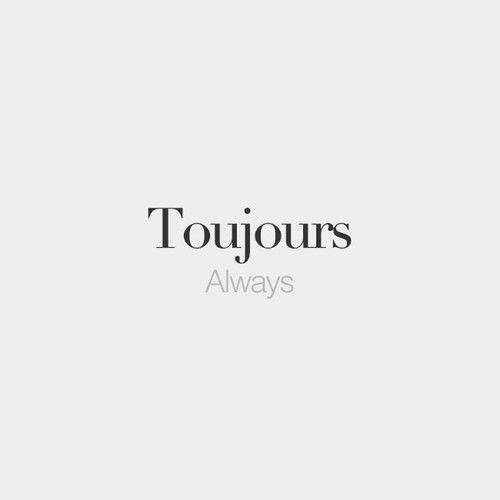 25+ best ideas about French word tattoos on Pinterest | French ...