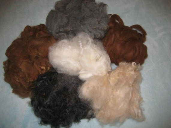Needle Felting Alpaca Wool Eco Friendly  my by GourmetFelted, $10.00