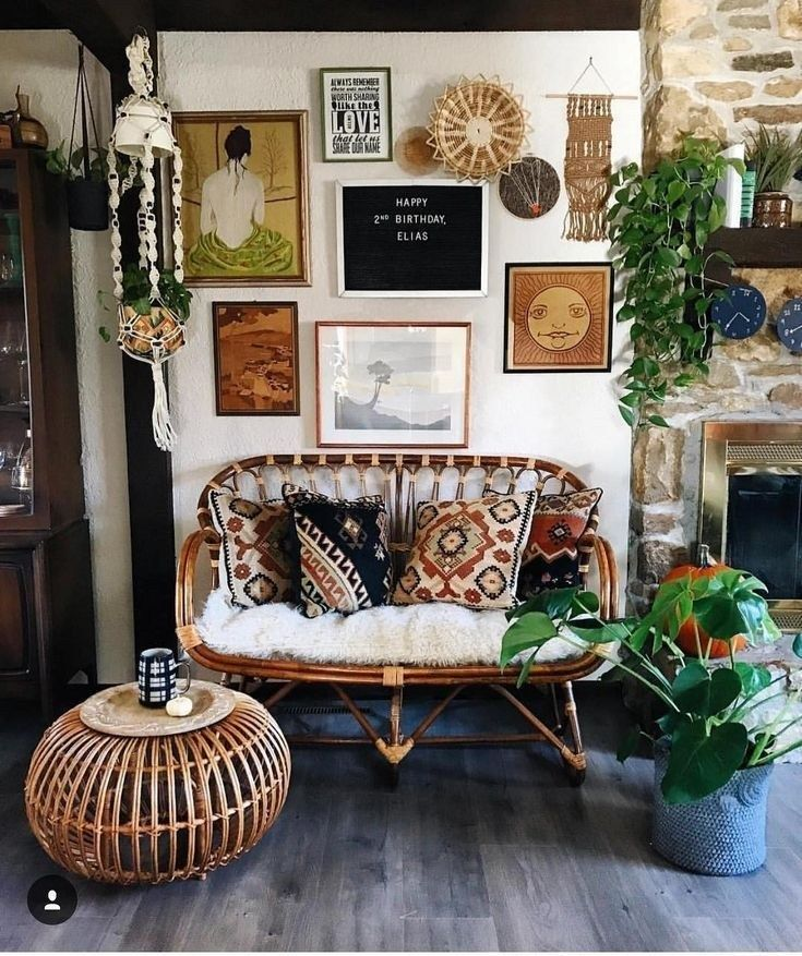 88 Stylish Bohemian Style Home Decor Ideas